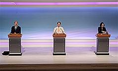 【總統辯論會】談國防 韓國瑜主張避戰 蔡英文倡國防拉抬經濟