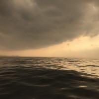 外海驚見海市蜃樓?海巡隊員目睹「島嶼」浮現