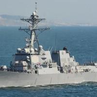 2艘美軍艦28日通過台海 國防部全程掌握