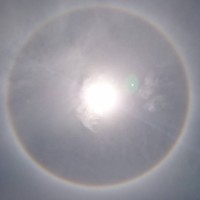 Eastern Taiwan residents amazed by solar halo