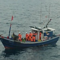 Taiwan Coast Guard seizes Chinese fishing boat with pork onboard