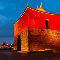 Photo of the Day: Taipei's North Gate Square at dusk