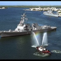Two U.S. Destroyers conduct FONOP in South China Sea