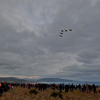 Taiwan beach town witnesses fighter jets instead of New Year sunrise