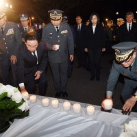 Taiwan President conveys air force squad's condolences to late general