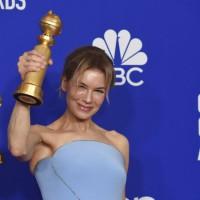 芮妮齊薇格走過低潮 睽違17年 以《茱蒂》再奪金球獎影后