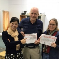 American couple with Taiwanese citizenship jets back to vote in election