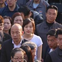 【台灣2020大選】韓國瑜高雄投票•女兒韓冰相隨 張善政花蓮投票5分鐘搞定