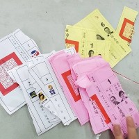 Taiwan voters arrested for damaging election ballots