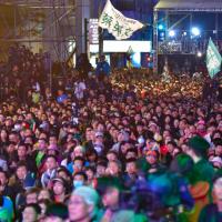 最新!台灣總統大選開票 蔡英文800萬高票破紀錄