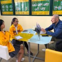 竹市首座雙語學校 新科國中友善英語情境拓展國際觀
