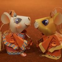 「2020台灣燈會」小提燈亮相 「吉利鼠與美力鼠」彎腰鞠躬賀新年