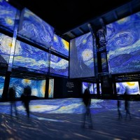 Psychedelic 'Van Gogh Alive' expo now in Taiwan