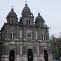 圖為中國北京最大的天主教堂(圖/ 中央社)