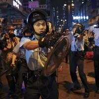 Hong Kong police officer arrested for supporting protests