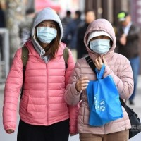 Cold weather with a low of 10 degrees forecast for northern Taiwan