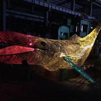 2020台北燈節有驚喜   大鯨魚游進台北都市叢林串聯東西區