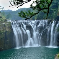 Shihfen Waterfall Park in New Taipei closed for Lunar New Year's Eve