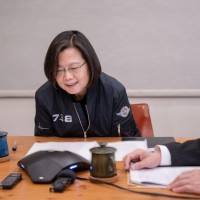 President Tsai receives congratulatory call from Taiwan-friendly US senator