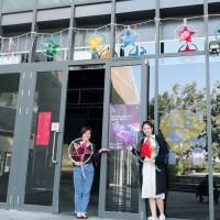 中市勞工局佈置越南燈籠 讓移工異鄉感受年節氣氛