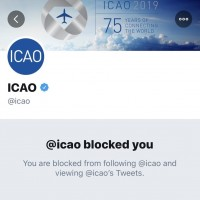 UN's aviation agency blocks Twitter accounts mentioning 'Taiwan'