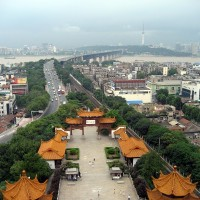 The Chinese city of Wuhan