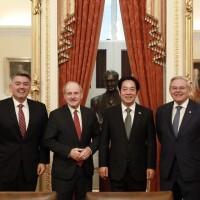 Taiwan VP-elect meets pro-Taiwan senators in DC