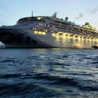 Cruise liner quarantined for coronavirus made stop in Taiwan
