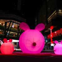 台灣新光三越鼠年燈會 齊聚時尚、娛樂、藝術名人創意
