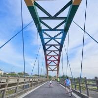Bridges along Hsinchu 17 km coastal bike path in N. Taiwan to be made safer
