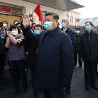 China's Xi makes rare appearance amid outrage over coronavirus lockdowns