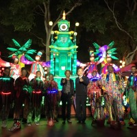 友邦留學生展現精彩舞技 台灣燈會充滿濃濃異國風