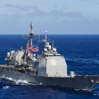 US identifies warship that sailed through Taiwan Strait Saturday