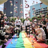 Taiwan sees nearly 3,000 same-sex weddings in year of legalization