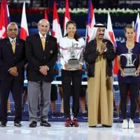Defending champions Hsieh, Strycova triumph again at Dubai Open