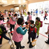 Taiwan's students return to school after extended winter break