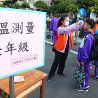 【武漢肺炎】開學首日防疫總動員 學生量體溫、戴口罩、酒精消毒 去福利社也要管制