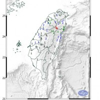 【快訊】台灣宜蘭晚間規模5.0極淺層地震 各地顯著有感