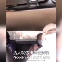 Chinese woman describes Wuhan virus patients being burned alive