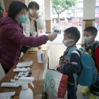 578 students found to have fevers on Taiwan's 1st day of school