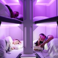 紐航顛覆經濟艙飛行體驗    搭飛機也能「平躺」睡覺