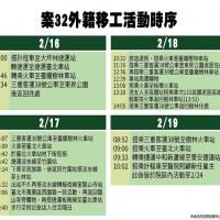 【武漢肺炎】指揮中心公佈移工活動史   確診前曾出入北車與龍山寺