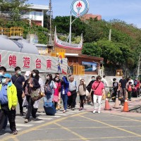 Taiwanese tourists pour into small islands as coronavirus hits overseas travel