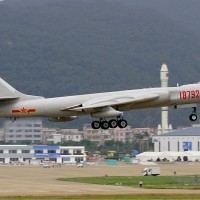 Taiwan spots Chinese H-6 bomber off its southwest coast