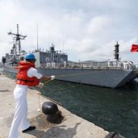 Taiwan Navy to stay away from coronavirus areas