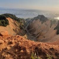 Visitors seen venturing into dangerous areas on C. Taiwan's Huoyanshan