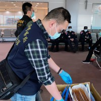 Taiwan police officers in quarantine after escorting suspects back from Montenegro
