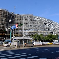 Taipei Dome close to resuming construction five years after suspension