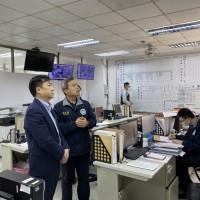 移民署面對疫情超前部署 內政部次長陳宗彥視察防疫作為