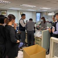 【武漢肺炎】防疫超前部署 移民署完成異地辦公準備